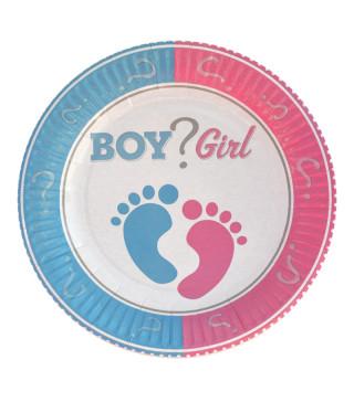 Тарілки BOY ? GIRL