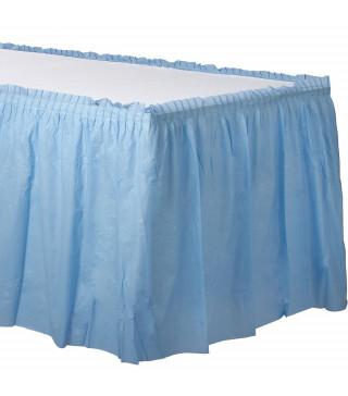 Декор для столу блакитний