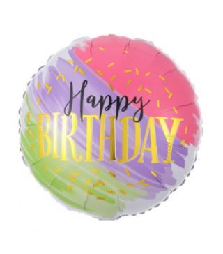 Кулька Happy birthday 3 кольори