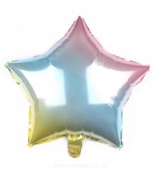 Кульки фольг.б/м ЗІРКА 18 Омбре (2,5г) фольга 301500(GP) FlexMetal