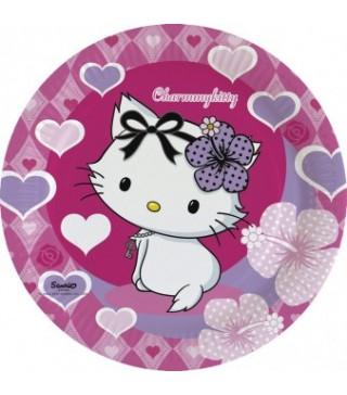 Тарілки Charmmy Kitty 23см/8шт