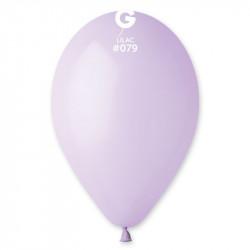 "Кульки пастель 10"" Бузьковий  G90/80  100 шт 09791 Gemar"