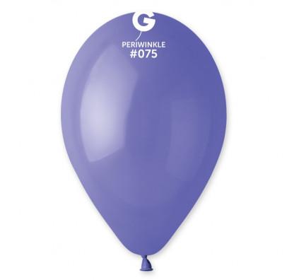"""Кульки пастель 10"""" барвінок блакитний G90/01 100шт 09751 Gemar"""