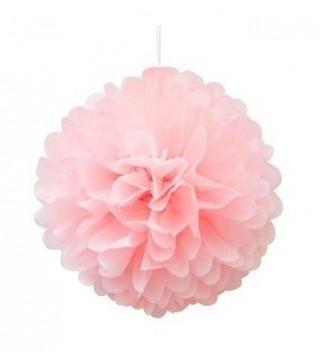 Помпон розовый 35см