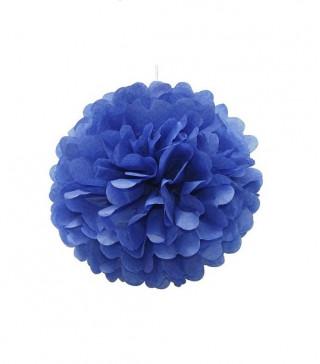 Помпон синий 25см