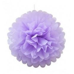 Помпон фіолетовий 35см
