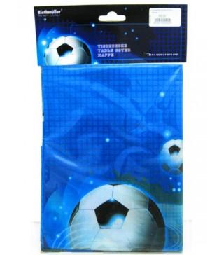 Скатертина святкова Футбол синя
