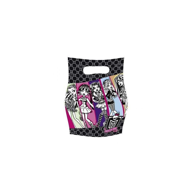 Подарочные пакеты Monster High 6шт/уп