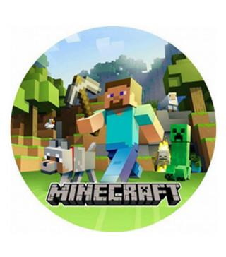 Тарілки Minecraft 8 шт/уп