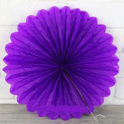 Паперова розетка фіолетова...