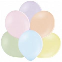 Кульки пастель асорті 100 шт/уп