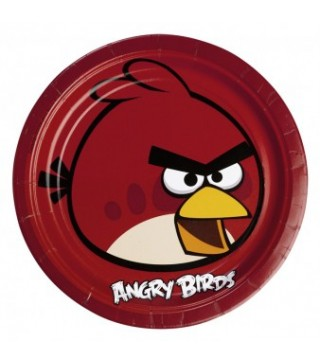 Тарілки Angry Birds
