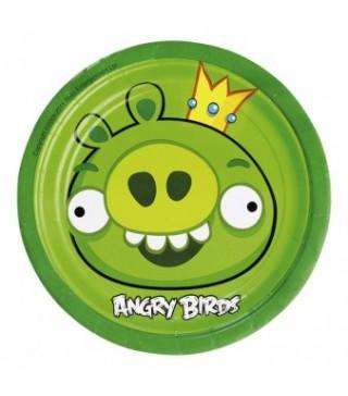 Тарелки Angry Birds 8шт/уп