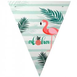 Декорация Гирлянда флажки Aloha