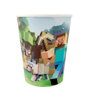 Стаканчики Minecraft 8шт/уп