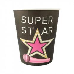 Стаканчики SUPER STAR 8шт/уп папір F-080852