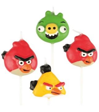 Свічки Angry Birds 4шт/уп