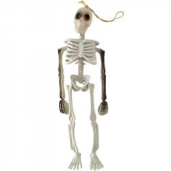 Пластмассовый скелет 30см хелловин