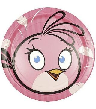 Тарілки Angry Birds Stella 8шт/уп