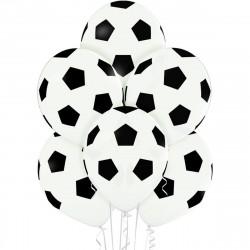 Кульки з малюнком футбольний м'яч