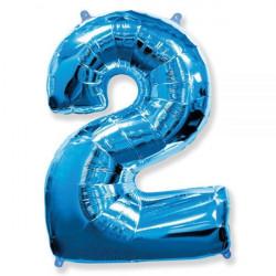 Воздушный шарик Цифра 2...
