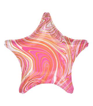 Шарики с рисунком Звезда