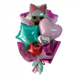 Букет з кульок №2