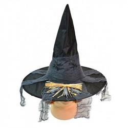 Шляпа ведьмы с мышами и пауками