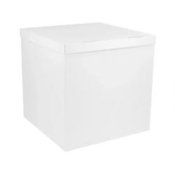 Пакувальна упаковка Коробка куб  біла 70*70*70см картон 50501 Україна
