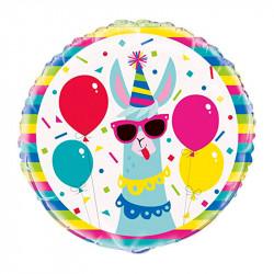 Кульки фольг з малюнк llama fun!