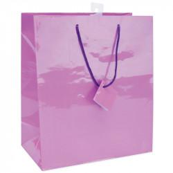 Подарунковий пакет фіолетовий
