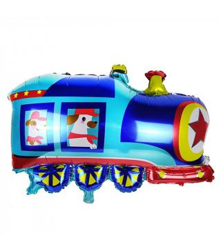 Шарики фигуры Поезд