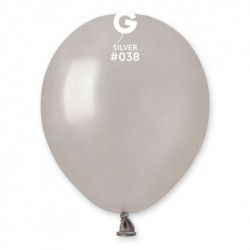 Кульки металік срібні 100 шт/уп