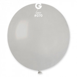 Кульки пастель сірі 100 шт/уп