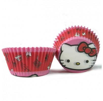 Формы для выпечки маффинов Hello Kitty