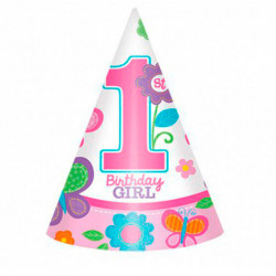Ковпачок 1-st Birthday girl