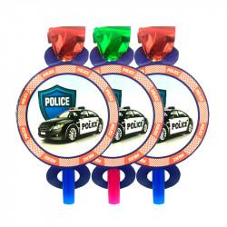 Язичок-гудок Поліція 6шт/уп