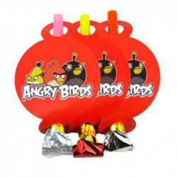 Язичок-гудок Angry Birds 6шт/уп