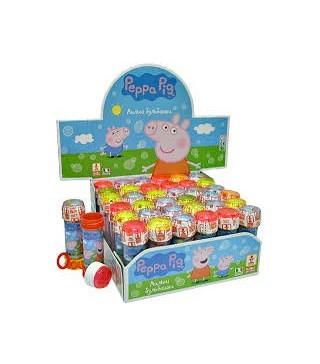 Мильні бульбашки Свинка Пепа