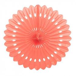 Паперова розетка (рожева) 40.6см