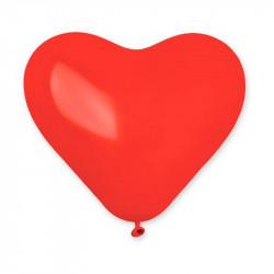 Пастель сердечки красные
