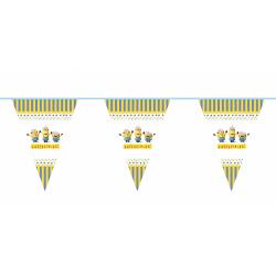Гірлянда-прапорці Міньйони