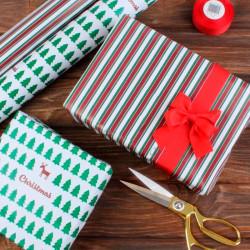 Подарунковий папір новорічний