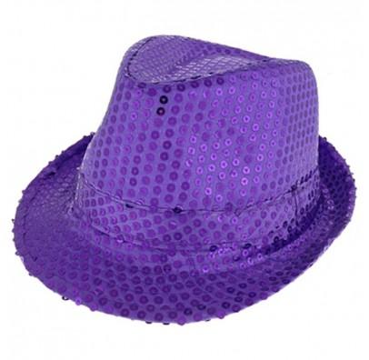 Шляпа Супер звезда фиолетовая