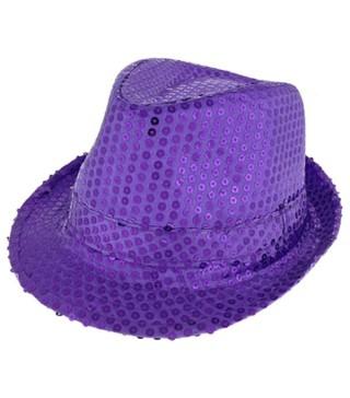 Капелюх Супер зірка фіолетовий