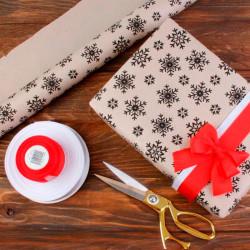 Упаковочная бумага новогодняя