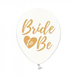 Шарики с рисунком Bride To be