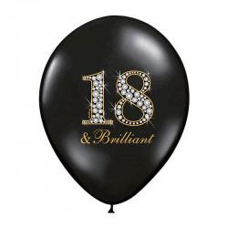 Кульки з малюнком 18 Brilliant 50шт/уп