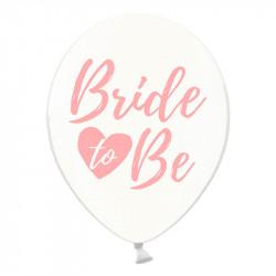 Кульки Bride To Be (фіолетові) 50шт/уп