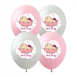 Кульки пастель Hello Baby 100шт/уп